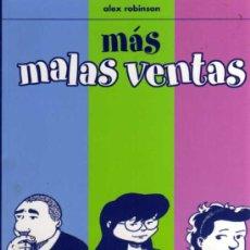 Cómics: MÁS MALAS VENTAS - ALEX ROBINSON - ASTIBERRI. Lote 28085806