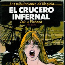 Cómics: LAS TRIBULACIONES DE VIRGINIA 4 NUMEROS COLECCION COMPLETA. Lote 28100856