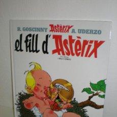 Comics : ASTERIX 27: EL FILL D'ASTERIX (CATALA) - SALVAT. Lote 28193866