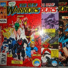 Cómics: WARRIORS,NUMEROS 1, 2 Y 3. Lote 28216391