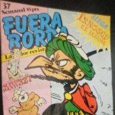 Cómics: FUERA BORDA Nº 37 . Lote 28268933