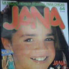 Cómics: JANA Nº 64 LA MEJOR REVISTA SEMANAL PARA CHICAS. Lote 28269748