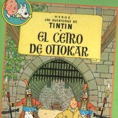 Cómics: TINTIN - HERGÉ - ALBUM DOBLE TAPA DURA - 1993 - EL CETRO DE OTTOKAR+EL CANGREJO DE LAS PINZAS DE ORO. Lote 28285923