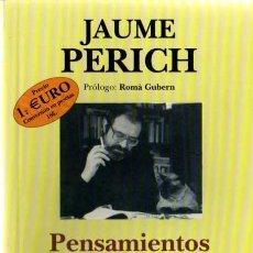 Cómics: PENSAMIENTOS DE MI GATO MAO - JAUME PERICH. Lote 28286314