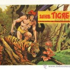 Cómics: TAPAS PARA LOS SUPLEMENTOS DE SAHIB TIGRE . FLECHA ROJA - CON 5 CUADERNILLOS. Lote 28347530