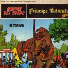 Cómics: PRINCIPE VALIENTE NUMERO-5 1972. Lote 28330835