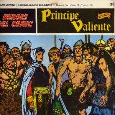 Cómics: PRINCIPE VALIENTE NUMERO 33 1972. Lote 28336365
