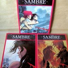 Cómics: SAMBRE 1 2 3 – GLENAT AÑO 1993 - EN CARTONÉ, GRAN FORMATO - MUY BUEN ESTADO. Lote 28358435