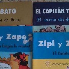 Cómics: CAPITAN TRUENO,JABATO,DOS ZIPI ZAPE.AÑO2003 EDICIONES.B.S.A.. Lote 28464064