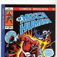 Cómics: LA MOSCA HUMANA-BRUGUERA-COMPLETA 8 REVISTAS AÑO 1977 AUTORES, BILL MANTLO Y FRANK ROBBINS. Lote 28526818