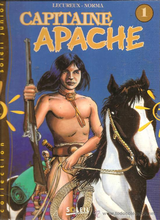 CAPITAINE APACHE TOMOS 1 Y 2 TAPA DURA INEDITOS EN ESPAÑA (Tebeos y Comics - Comics Pequeños Lotes de Conjunto)