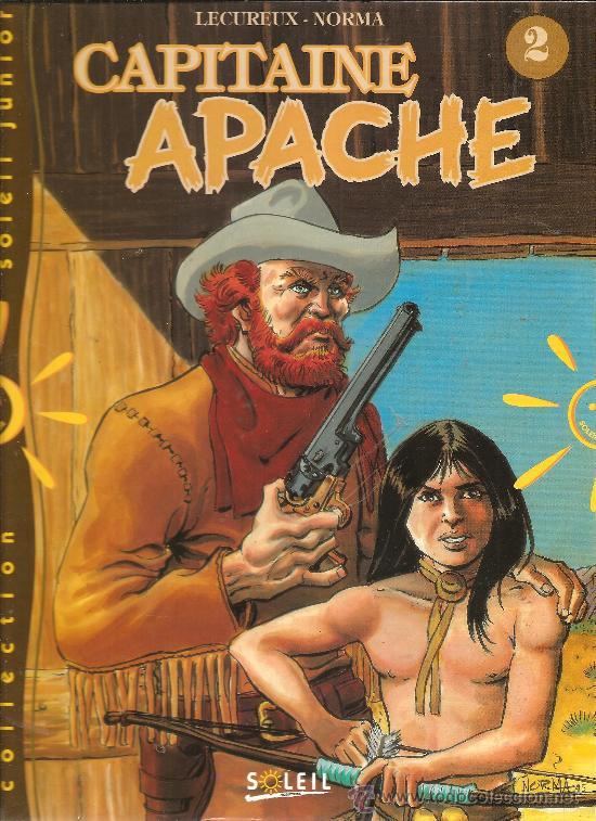 Cómics: CAPITAINE APACHE TOMOS 1 Y 2 TAPA DURA INEDITOS EN ESPAÑA - Foto 2 - 28648804