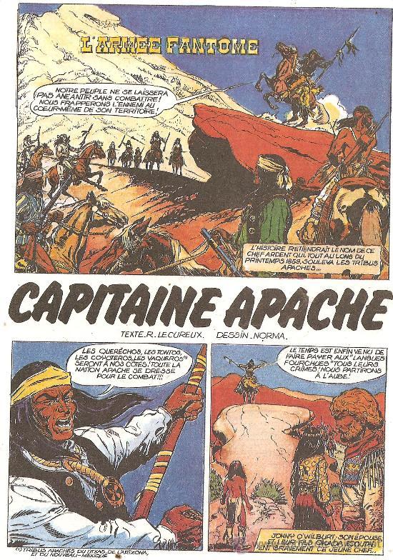 Cómics: CAPITAINE APACHE TOMOS 1 Y 2 TAPA DURA INEDITOS EN ESPAÑA - Foto 3 - 28648804