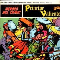 Cómics: PRÍNCIPE VALIENTE Nº 22 , EDI. BURULAN 1972, HAROLD FOSTER, 30 X 23 CMS, COLOR , 24 PGS.. Lote 28679975