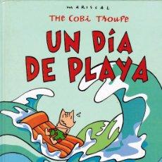 Cómics: THE COBI TROUPE - UN DIA DE PLAYA - MARISCAL - PLAZA & JANES 1992. Lote 28710456