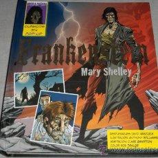 Cómics: FRANKENSTEIN MARY SHELLEY. EDICIONES SM 2009. CON DESPLEGABLES. ESPECTACULAR Y .. Lote 166697404