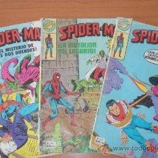 Cómics: LOTE DE 3 COMICS SPIDER-MAN. EDITORIAL BRUGUERA. Nº 46, 53 Y 4. SPIDERMAN.. Lote 29003567