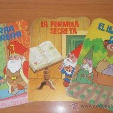 Fumetti: LOTE DE 2 CUENTOS TROQUELADOS DAVID EL GNOMO. EDITORIAL PLAZA JOVEN.. Lote 273960978