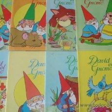 Cómics: LOTE DE 5 COMICS DAVID EL GNOMO. EDITORIAL PLAZA JOVEN.. Lote 139188301
