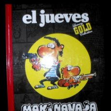 Cómics: MAKINAVAJA. GOLDEN YEARS. LUXURY GOLD COLLECTION. 2008. TOMO. EL JUEVES.. Lote 29133027