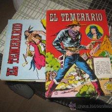 Cómics: EL TEMERARIO 9 NUMEROS DE 10.. Lote 29183984