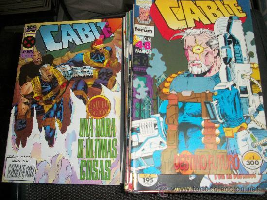 CABLE VOLUMEN I COLECCION COMPLETA 1 AL 21 EDICIONES FORUM (Tebeos y Comics - Comics Pequeños Lotes de Conjunto)