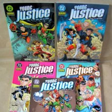 Cómics: YOUNG JUSTICE 1 2 3 4 5 COMPLETA - NORMA, AÑO 2004 - NUEVO (PRECINTADO). Lote 31949621
