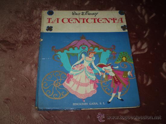 WALT DISNEY. LA CENICIENTA(EDICIONES GAISA,S. L. 1968) (Tebeos y Comics Pendientes de Clasificar)