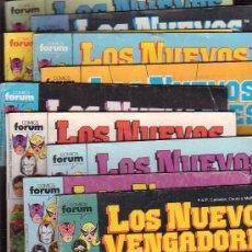Cómics: LOS NUEVOS VENGADORES - LOTE DE 61 EJEMPLARES ( FORUM ) ,. Lote 29388462