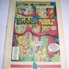 Cómics: STAR WARS. TELECOMIC 14. EWOKS Y DROIDS. Lote 29752352