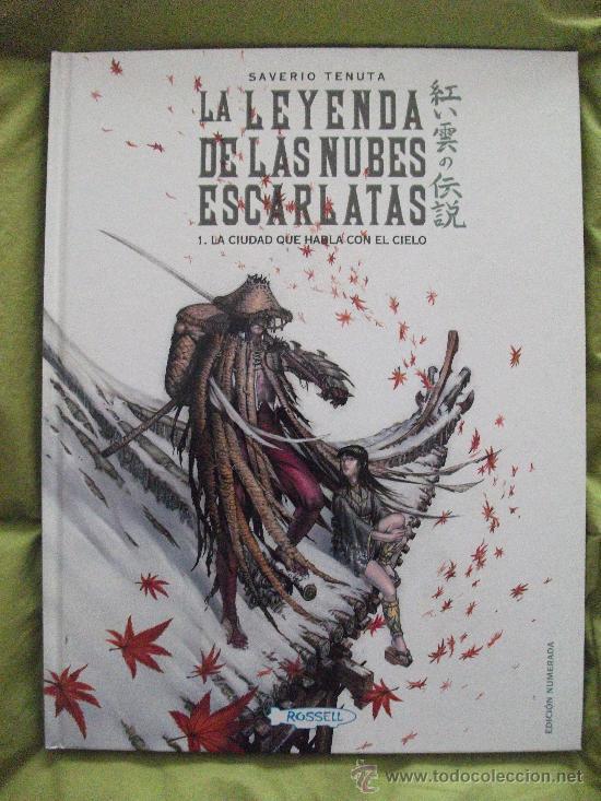LA LEYENDA DE LAS NUBES ESCARLATAS ROSSELL FANTASY WORKS (Tebeos y Comics Pendientes de Clasificar)
