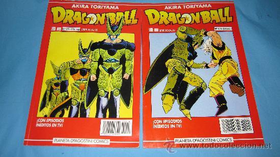 DRAGONBALL AKIRA TORIYAMA NUMEROS 171 Y 177 (Tebeos y Comics - Comics Pequeños Lotes de Conjunto)