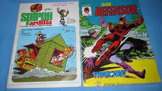 ESPIROU ARDILLA, DAN DEFENSOR Nº 2 Y GUAI Nº 116 (Tebeos y Comics - Comics Pequeños Lotes de Conjunto)