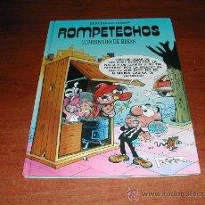 Cómics: GRANDES DEL HUMOR Nº 5: ROMPETECHOS, COMBINADO DE RISAS. TAPA DURA.. Lote 32865238
