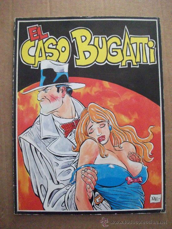 EL CASO BUGATTI ALBUM TAPA RUSTICA EDICIONES AMAIKA (Tebeos y Comics Pendientes de Clasificar)