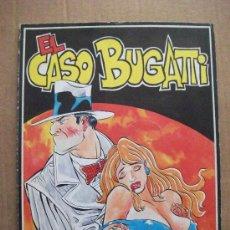 Cómics: EL CASO BUGATTI ALBUM TAPA RUSTICA EDICIONES AMAIKA. Lote 30161480