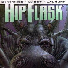 Cómics: HIP FLASK (SELECCIÓN NO NATURAL) STARKINGS - CASEY - LADRONN. Lote 30193614