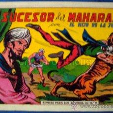Cómics: COMIC EL HIJO DE LA JUNGLA Nº Rº 9 EDITORIAL JLA CONTIENE LOS Nº 41 A 48, POR MANUEL GAGO 1986. Lote 30197555