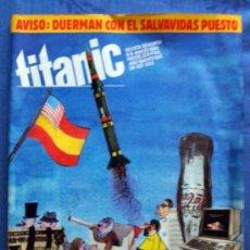 Cómics: REVISTA HUMOR TITANIC 1984 NUEVA EL JUEVES, JOMA, FER, LLUISOT, ESPECIAL QUINO-NUEVO. Lote 30269161