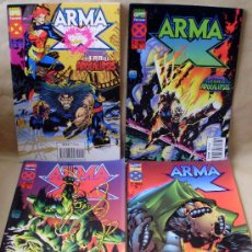Cómics: X-MEN – ARMA-X – ED PLANETA AÑO 1995 – COMPLETA 4 EJEMPLARES – COMO NUEVOS. Lote 30283942