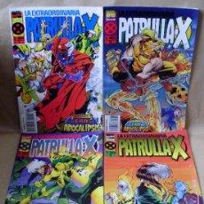 Cómics: X-MEN – LA EXTRAORDINARIA PATRULLA X 1 2 3 4 COMPLETA – PLANETA AÑO 1995 – MUY BUEN ESTADO. Lote 30286567
