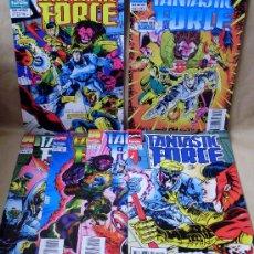 Cómics: FANTASTIC FORCE – ED PLANETA AÑO 1995 – COMPLETA 6 EJEMPLARES – COMO NUEVOS. Lote 30296760