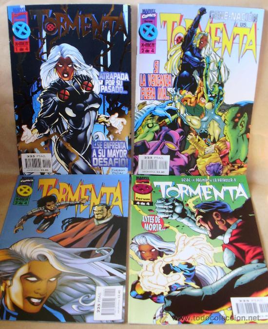 TORMENTA 1 2 3 4 COMPLETA – ED PLANETA AÑO 1996 – MUY BUEN ESTADO (Tebeos y Comics - Comics Pequeños Lotes de Conjunto)