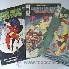 Fumetti: SPIDER-WOMAN. V. 1 – Nº 1. / THE CHAMPIONS. V2 – Nº 96 / LA COSA Y SPIDER-WOMAN. V2 – Nº 94.. Lote 30323778