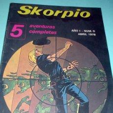 Cómics: SKORPIO. AÑO 1. NUM.O ABRIL 1978. REVISTA. COMIC. Lote 30351562