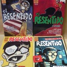 Fumetti: JUACO VIZUETE - EL RESENTIDO – OBRA COMPLETA – BRUT COMIX 1997 / 1999 – LA CÚPULA. Lote 30353600