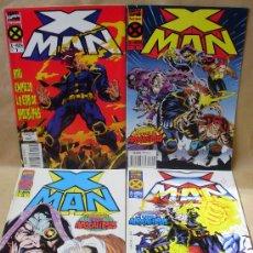 Cómics: X-MEN – X-MAN – 1 2 3 4 COMPLETA - ED PLANETA AÑO 1995 – MUY BUEN ESTADO. Lote 30353727