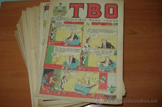 Cómics: Lote de 151 comics TBO. Se incluyen algunos Extras. - Foto 2 - 26403249