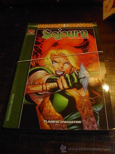 SOJOURN , UNIVERSO CROSSEGEN, PLANETA AGOSTINI, 20 EUROS CADA FASCICULO (Tebeos y Comics - Comics otras Editoriales Actuales)