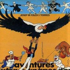 Cómics: FOLCH I TORRES : AVENTURES EXTRAORDINÀRIES D'EN MASSAGRAN (CASALS, 1981) CATALÁN. Lote 30526954